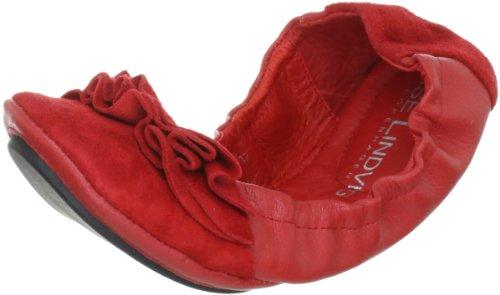 Lise Lindvig DOT 00800395 Damen Ballerinas Rot (Red)