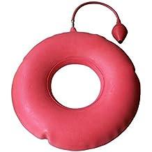 Asiento ortopédico inflable, Almohada hinchable c/inflador 40cm