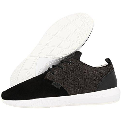 Djinns Schuhe Lau Run Mesh & Skin black (XTDJ400-001)