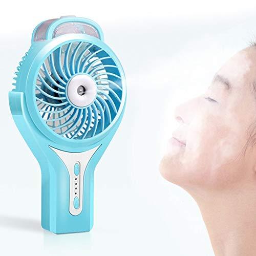 Yogasada Mini portátil de refrigeración pulverizadores manuales Ventilador del humidificador Ventilador de la bruma de Agua Ventilador