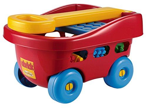 Smoby Handwagen Polyester/Kunststoff Bunt (Ziehen Schlitten Für Kinder)