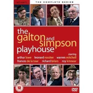 The Galton and Simpson Playhouse DVD The Complete Series
