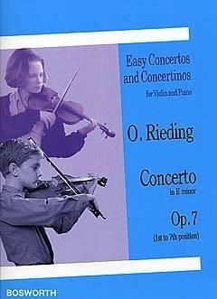 Concerto en mi min. Op.7 - Violon