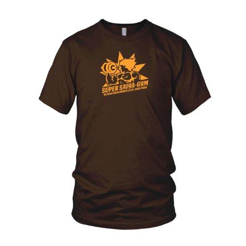 DBZ: Super Saiya Gym - Herren T-Shirt Braun