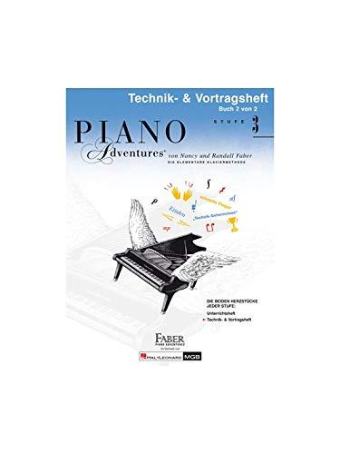 Piano Adventures: Technik- & Vortragsheft 3