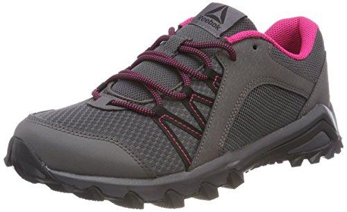Reebok Damen Trailgrip 6.0 Walkingschuhe Grau (Ash Grey/Black/Overtly Pink) 38.5 EU