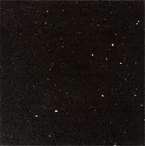 Dalles de sol pour carrelage et pierre cosmic noir 40 cm x for Carrelage quartz