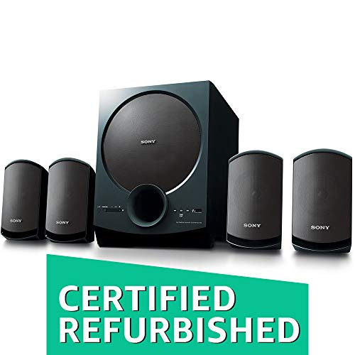 (Renewed) Sony SA-D40 C E12 4.1 Channel Multimedia Speaker System with Bluetooth (Black)
