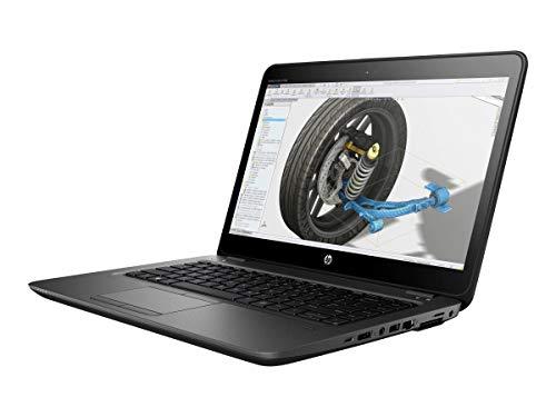 """HP ZBook 14u G4 2.60GHz i5-7300U 14"""" 1920 x 1080pixels Noir Station de Travail Mobile"""