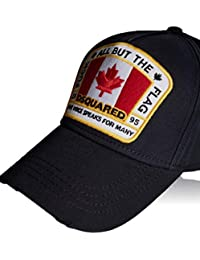 Amazon.co.uk  DSquared - Baseball Caps   Hats   Caps  Clothing 7aa2c08ebf14