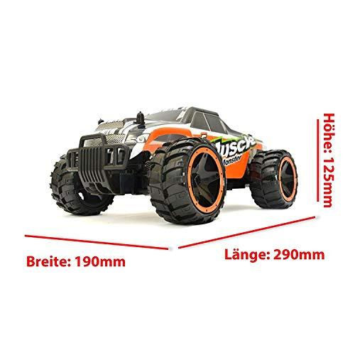 RC Auto kaufen Crawler Bild 4: Aandyou Ferngesteuertes Auto,RC Auto 1:18, High Speed RC Off Road Auto, 2.4 GHz 4WD Monstertruck für Kinder (Schwarz)*