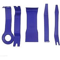 WINOMO Car Puerta Reparación herramienta Kit de 5 herramientas para desmontar el salpicadero radio coche panel frontal