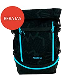 Nonbak mochila backpack MOLOKAI natacion triatlon outdoor camouflage-negra 35 litros