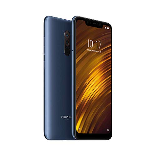 Poco F1 by Xiaomi (Steel Blue, 6GB RAM, SD 845, 128GB Storage) - Extra 1000 cashback as Amazon Pay Balance on pre-Paid Orders