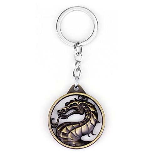 e Empire Fighting Game Sign Keychain Pendant ()