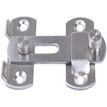 Cierre de Acero Inoxidable Latch hasp latch lock bloqueo de puerta corredera para ventana armario Fitting