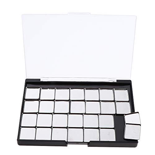 IPOTCH Leere Magnetische Lidschatten Palette Kosmetik Palette Make up Palette für Lidschatten Eyeshadow - C