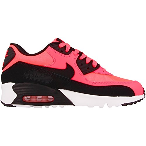 Nike Air Max 90 Mesh Gs, Gymnastique mixte enfant Multicolore (Racer Pink/black/white)
