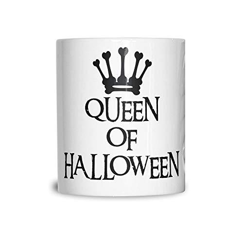 ikbecher Queen Of Halloween Crown White 11OZ ()