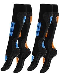 gestreift,Gr.35-42 1 oder 2 Paar Damen-Zehensocken Overknees 3 Farbvarianten