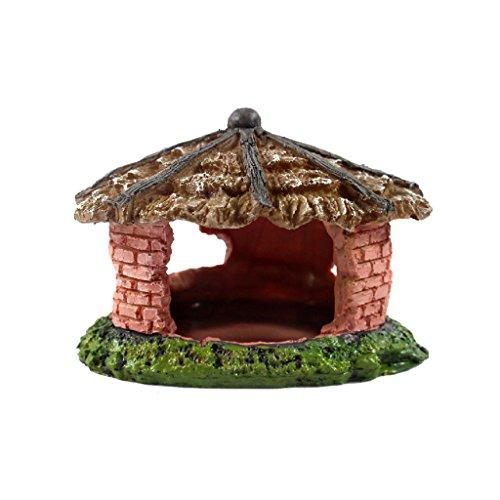 Homyl Reptil Haus Höhle Schutz Ornament Für Schildkröte, Eidechse, Frosch, Schlange, Spinne