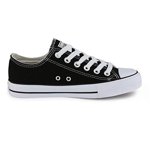 Sneakers best-boots da donna scarpe da ginnastica atletica scarpe Cords Slipper Nero