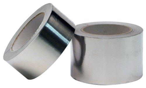 Aluminium Klebeband 100mmx50m 1 Rolle Profi-Qualität Isolierband Abdichtband Aluminium-Klebeband - 3