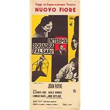 Póster de película interpago 11 x 17 en italiano 28 cm x 44 cm John Payne - Alexander Knox Conrad Nagel Natalie Norwick Anne neelyen