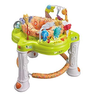 WFHhsxfh Baby-Musik-drehender Kleinkind-Stuhl mit hellem Musik-Multifunktionswanderer-Baby-Wanderer Gehhilfe