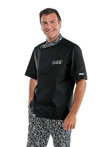 Isacco - Veste Durango Gris Londra 12 Nero+Sushi 01 65% Poliestere 35% Cotone Mezza Mani