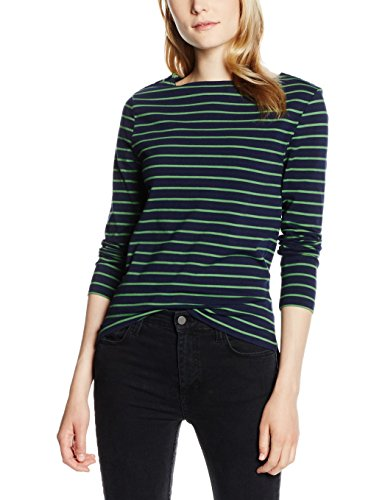 french-connection-womens-tim-tim-tee-long-sleeve-tops-blue-nctrnl-juniper-green-16-manufacturer-size