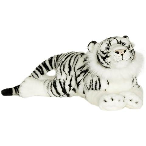 Blickfänger 14149 - Peluche Jaquard Siberian Tiger Lying, 69 cm