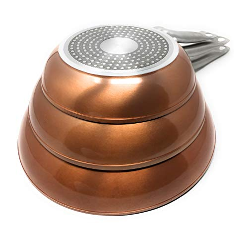 Royal Chef - Sartén Profesional de Aluminio Forjado - Recubrimiento Antiadherente Premium -...