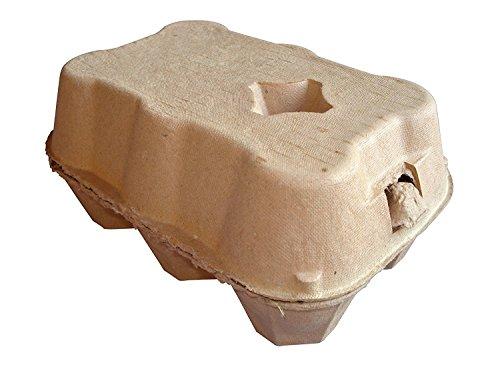 Eton 3x 6Eierkartons, Kaffeefarben, 24, 1/2Dutzend, eingeschweißt