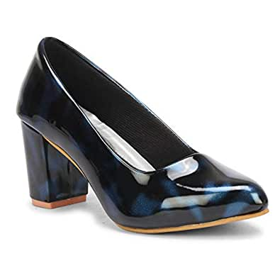 commander shoes Casual Block Heel Bellies for girls and women