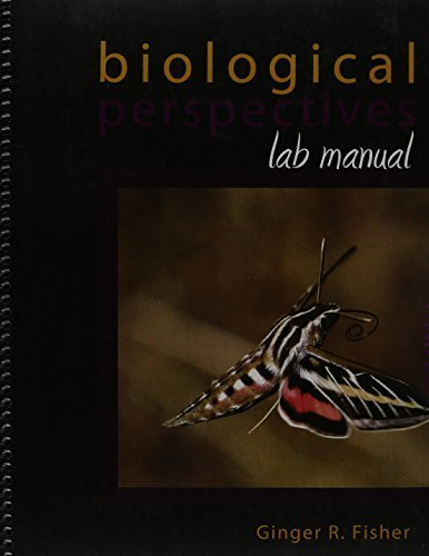 Fisher lab the best amazon price in savemoney biological perspectives lab manual 1st edition by fisher ginger 2011 spiral bound fandeluxe Gallery