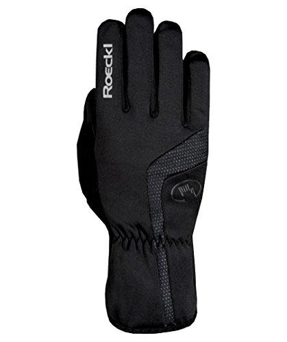 Roeckl Reinbek Winter Fahrrad Handschuhe lang schwarz: Größe: 10