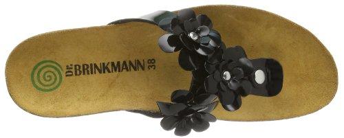 Dr. Brinkmann 700728 Damen Sandalen Schwarz (schwarz 1)