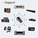 EisEyen Wireless USB Bluetooth 3.0 USB Adapter 3.5mm AUX Audio Dongle für Bluetooth Kopfhörer, Maus, Tastatur, Druckern, PCs, Music Home Car Receiver Adapter