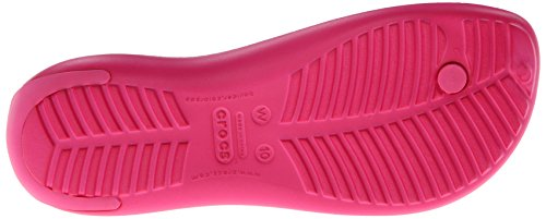 Crocs Sexy 11354, Sandales - Femme Rose (Candy Pink/Candy Pink)