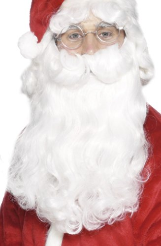 Smiffy's 98150 - Sankt Beard, 38 cm, (Santa Bart Claus)