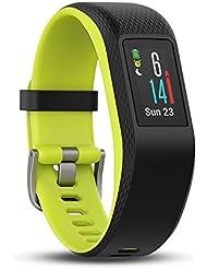 Garmin vívosport GPS-Fitness-Tracker – 24/7 Herzfrequenzmessung am Handgelenk, integriertes GPS, vorinstallierte Lauf-App, hochauflösendes Farb-Touchdisplay