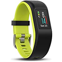 Garmin Vivosport Smart Activity Tracker with Wrist-Based Heart Rate and GPS - Limelight/Large