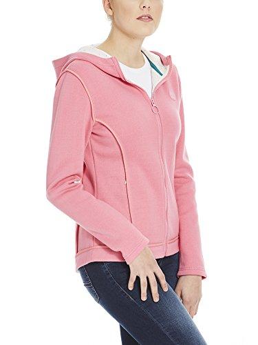 Bench Damen Jacke Jacket Binding Rosa (Chateau Rose Pk052)