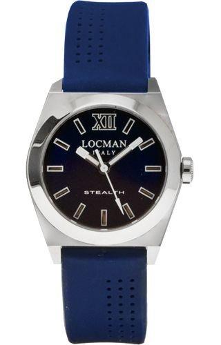 Montre Locman 020400BLFNK0SIB BLEU TITANE Unisex