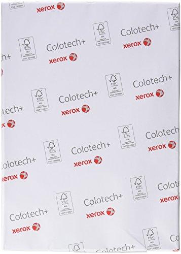 festes papier Xerox 003R97552 Colotech mit Premium Farblaserpapier, Druckerpapier, Farbkopierpapier, Din A4, 300 g/m² Pack, 125 Blatt, weiß