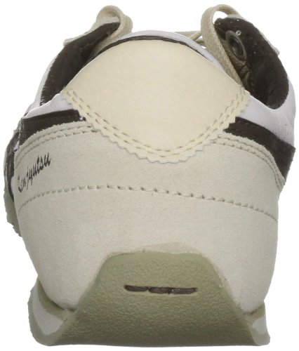 Asics , Sport Lifestyle lacets mixte adulte Off-white/dark Brown