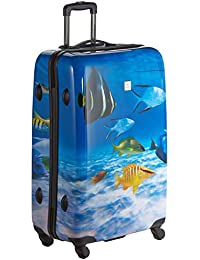 Saxoline Fish Tank Koffer, 77 cm, 81 Liter, Blau