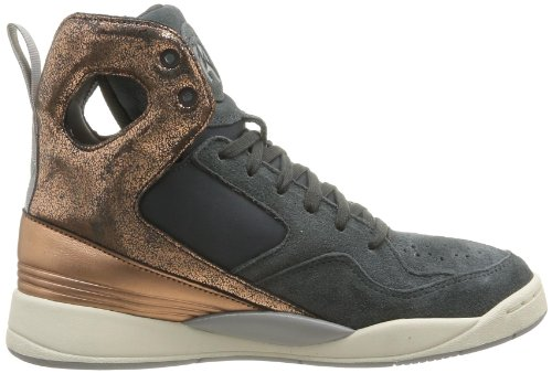 Reebok A.Keys Court, Baskets mode femme Gris (Gravel/Rose Gold/Sandtrap)