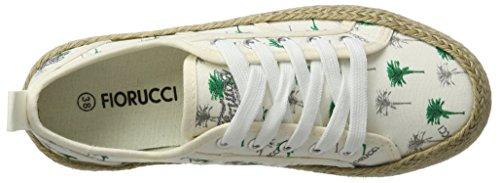 Fiorucci Damen Fepd027 Sneaker Weiß (BIANCO)